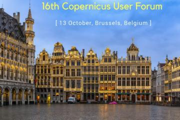 16th Copernicus User Forum, 13 October, Brussels, Belgium
